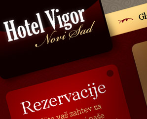hotel vigor - hotel website design - mindnever